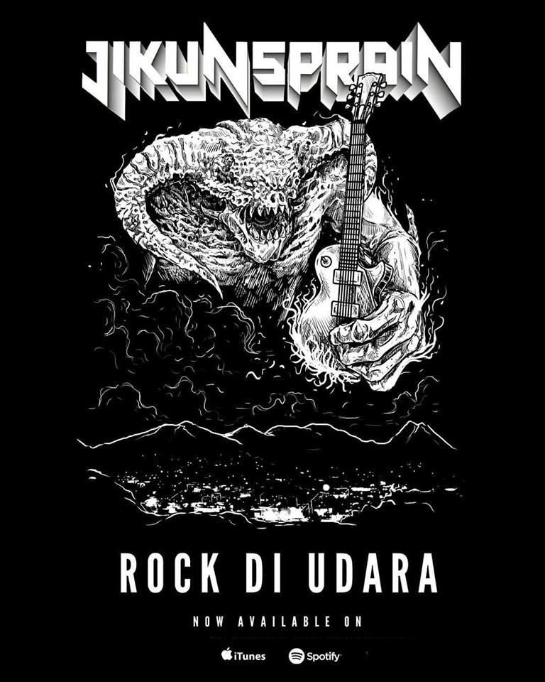 jikunsprain-rock-di-udara